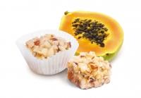 Бразильский орех и папайя